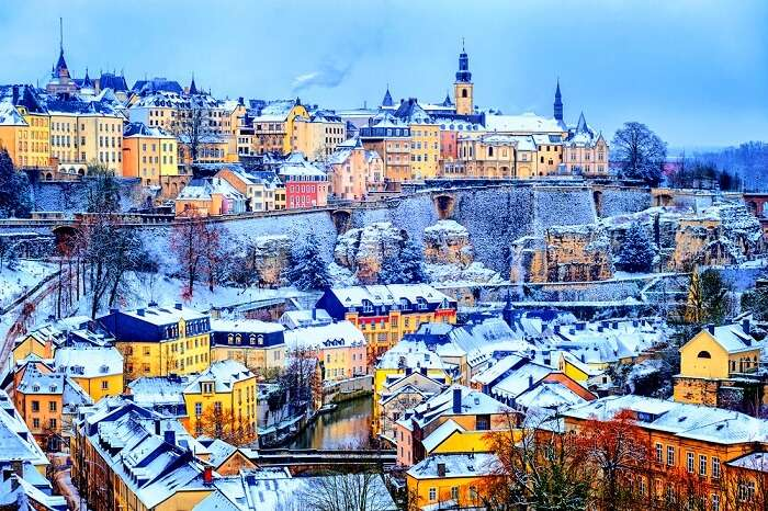 Luxembourg In Winter 2020 9 Best Places To Visit In This City