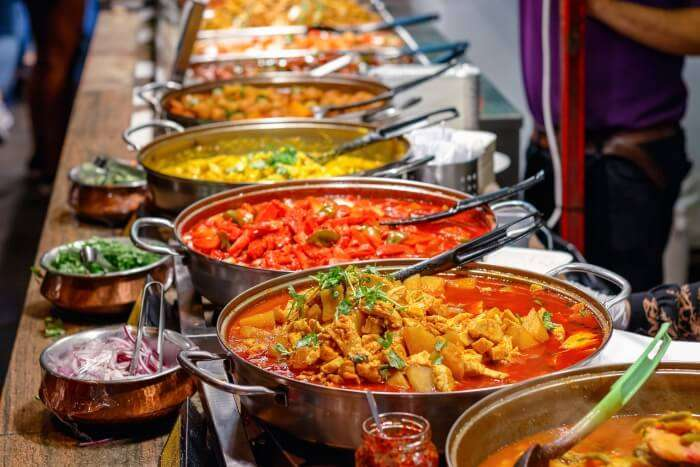 indian restaurants in uk