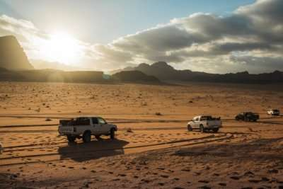 safari in jordan - cover