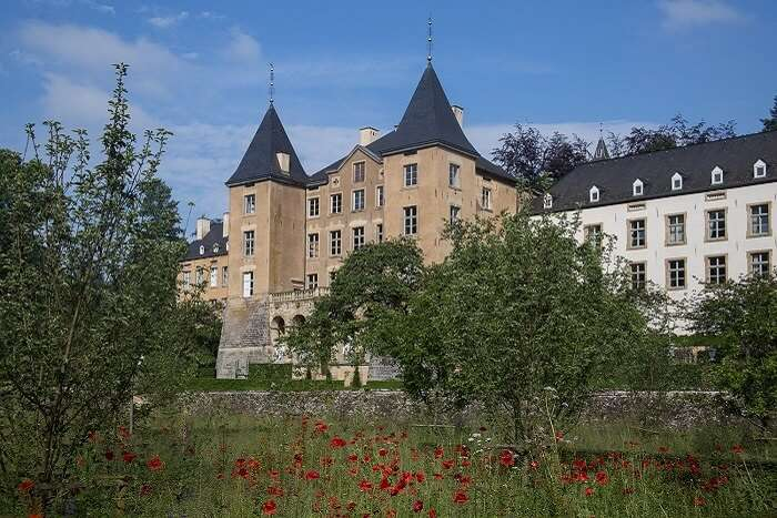 The New Castle of Ansembourg