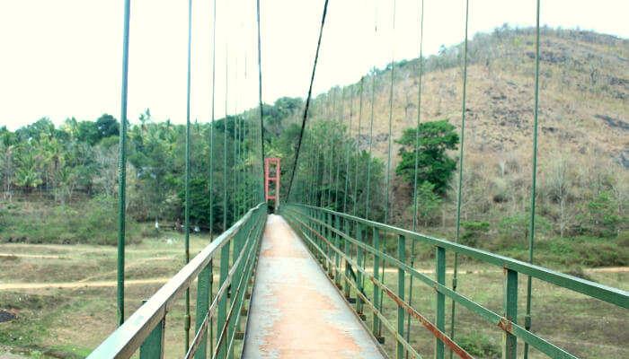 Ayyappancoil Hanging Bridge in Idukki