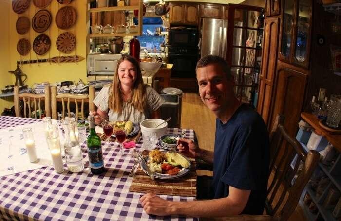 Book a dinner date at a restaurant