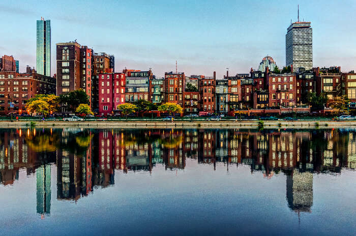 Boston water front