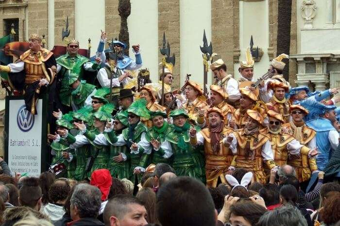 Cadiz Carnival – 8th-18th February