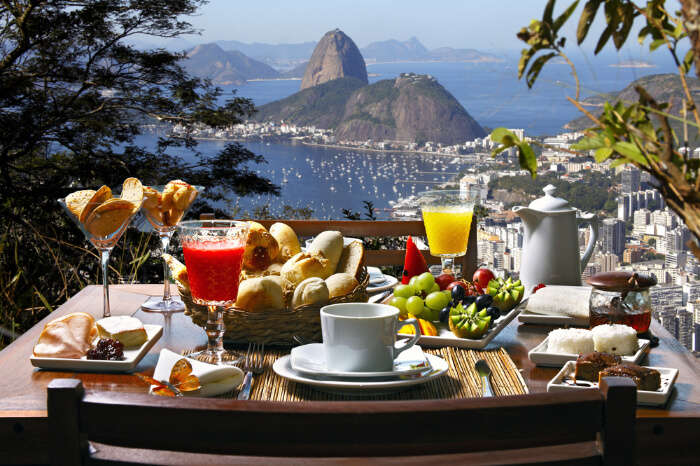 A cafe in Brazil, South America