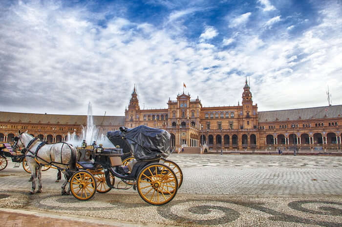 Amazing Seville In Winter