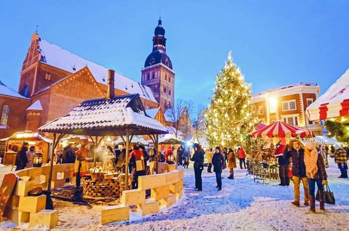 best christmas market in latvia