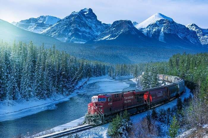 Canada Train Journeys Cover
