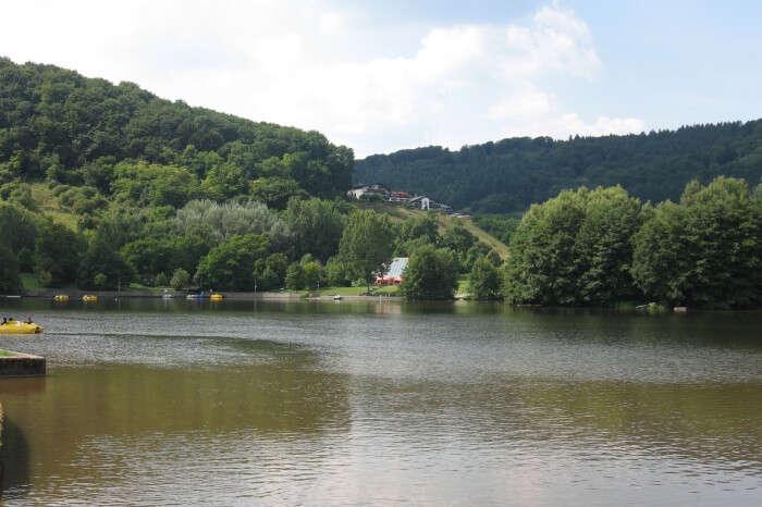 Echternach Town And Echternach Lake