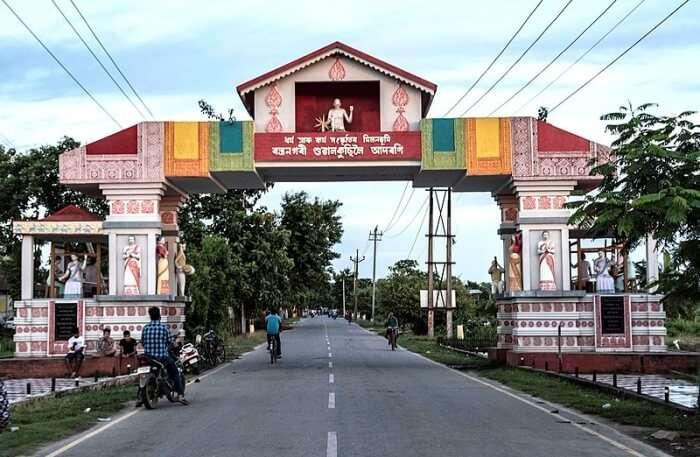 Main Gate to Sualkuchi