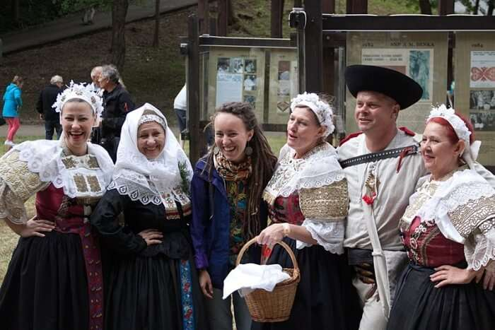 "Ethnographic festival ""Games in Duke's Town "" (Ukraine)"