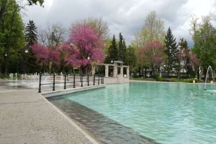 Garden Of Tsar Simeon's And The Singing Fountains