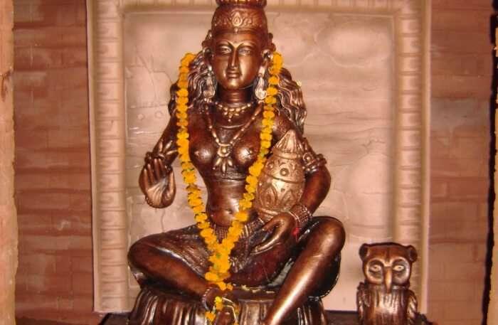 Goddess Lakshmi Shrine