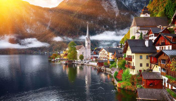 Hallstatter lake