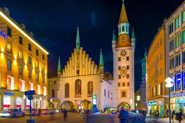 Munich In January