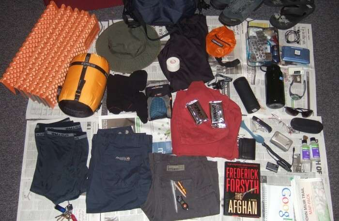 Things for camping
