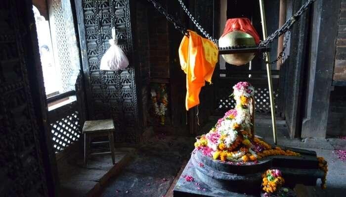 Temple interiors