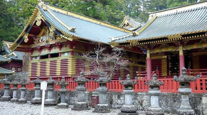 famous shrine in Nikko