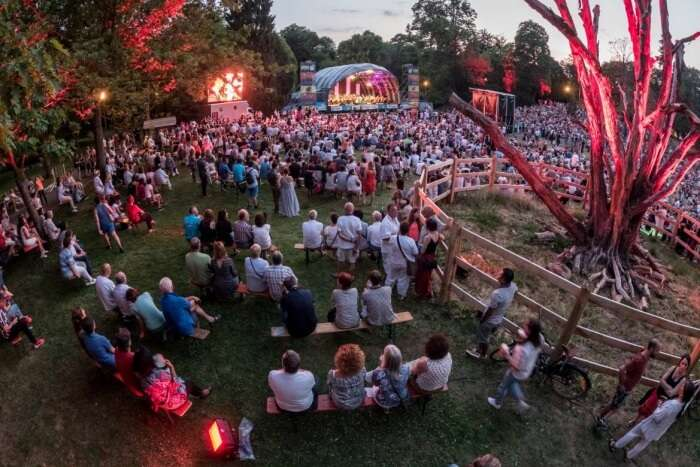 Open air Summer campaign (Luxembourg)