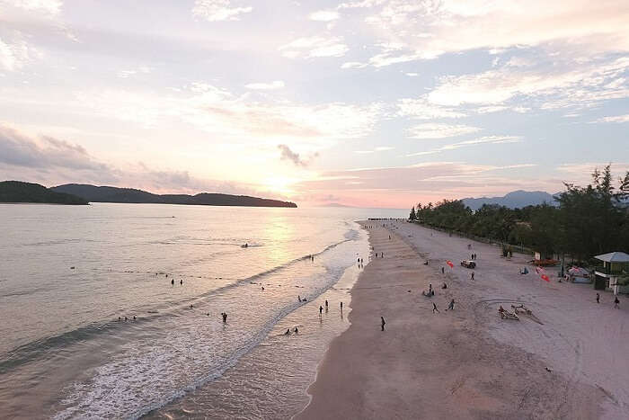 famous beach in Langkawi