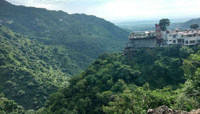 Green Mountains in Parwanoo