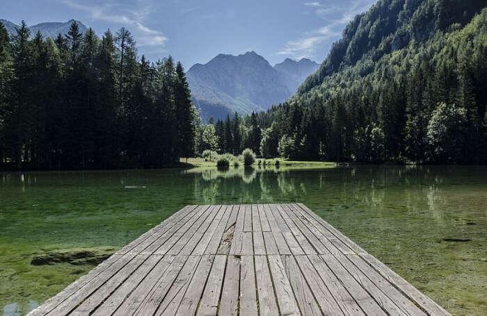 Plansarsko Lake