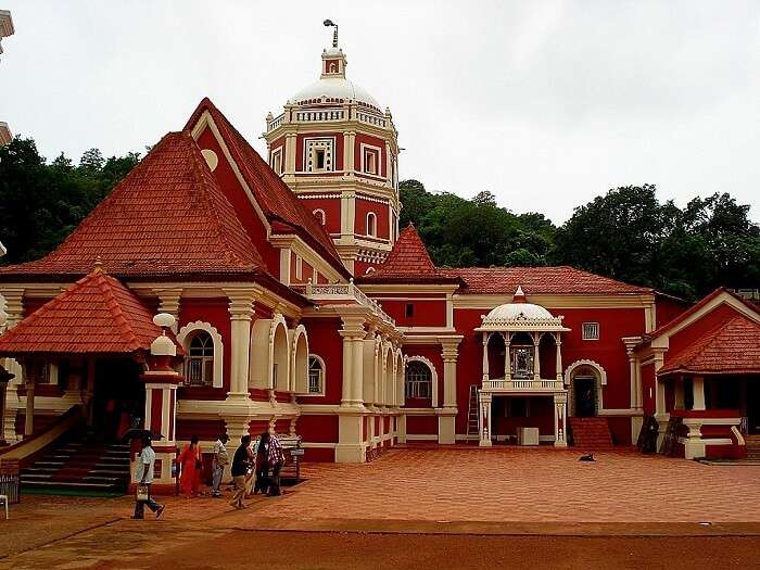 exterior of Shantadurga