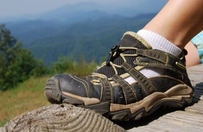 Sneakers Or Hiking Boots