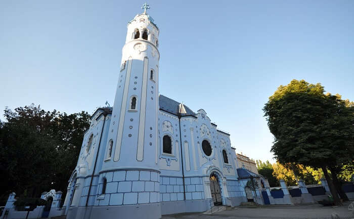 St Elizabeth's Blue Church
