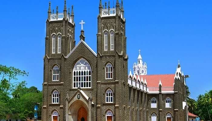 St. Andrew's Basilica Arthunkal In Alleppey