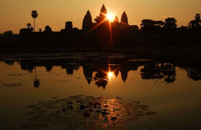 Sunset-Point-At-Angkor-Wat