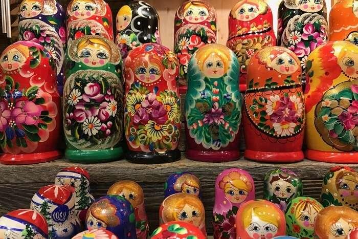 Dolls Russian Dolls Matroschka