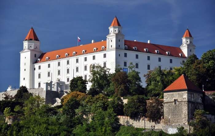 Where Is Bratislava Castle