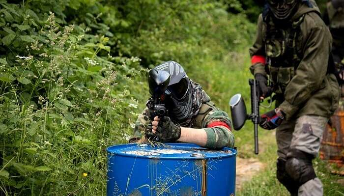 Wood Game Paintball
