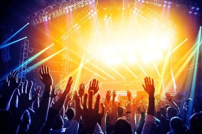rock concert australia
