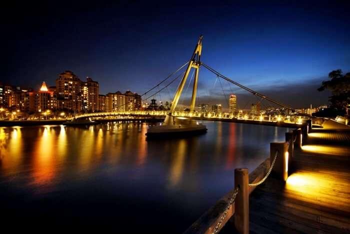bridge and river
