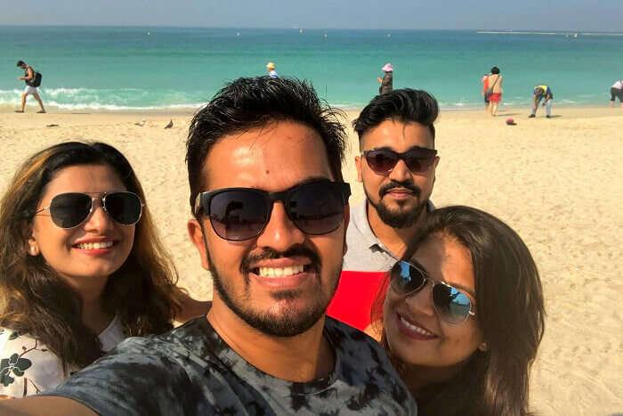minals family trip to dubai