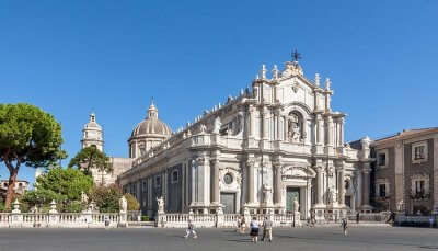 Cathedral of St. Agatha in Catania