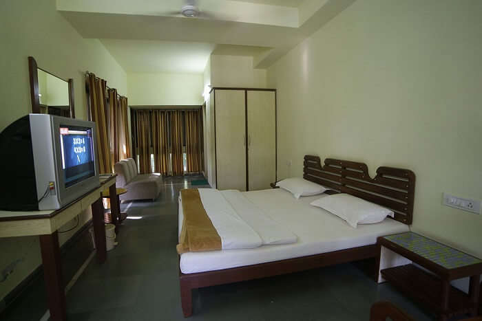 plain room view of the resort
