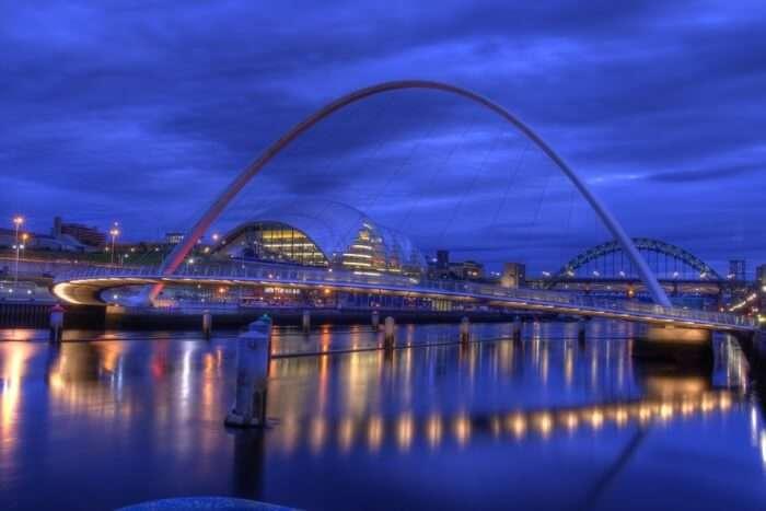 About Gateshead Millennium Bridge