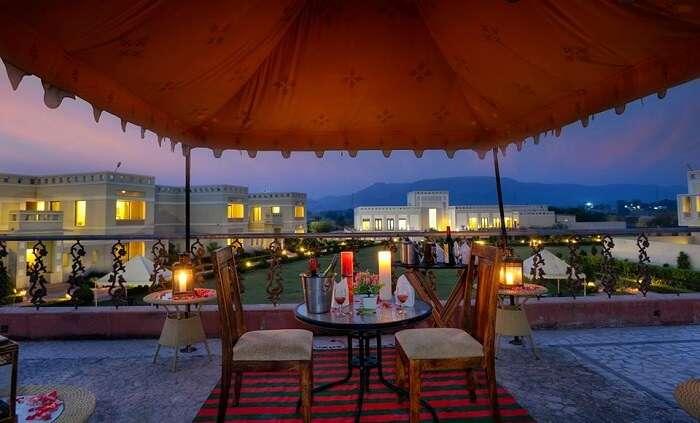 Achrol Niwas Treehouse Resort in Jaipur Rajasthan
