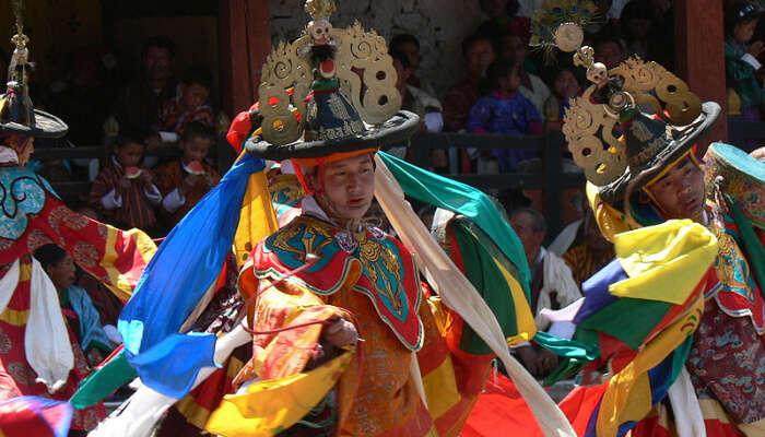 A Bhutanese Costume Festival