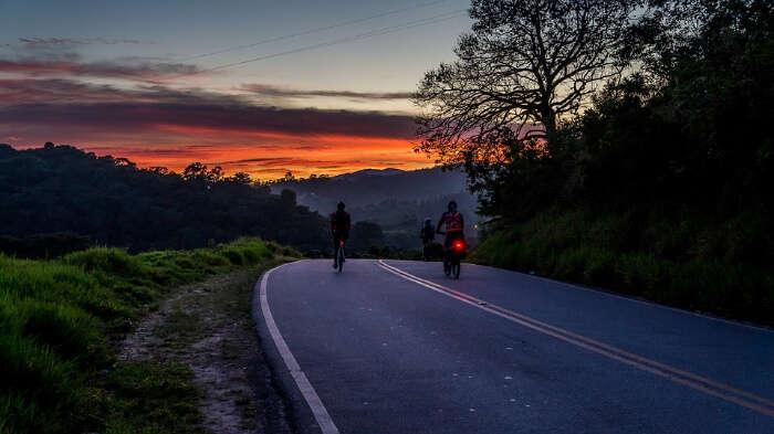 Biking in Havelock