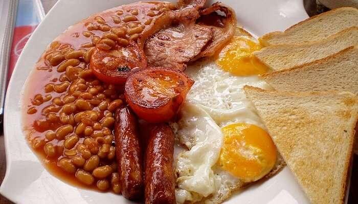 Café Chocolatti - english breakfast