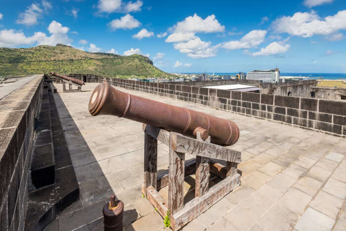 Beautiful Citadel Fort In Mauritius