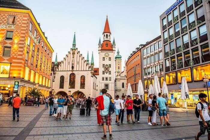 famous market in Munich