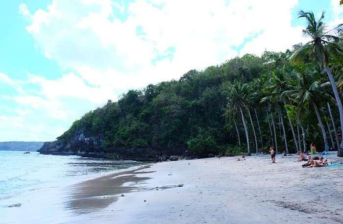Crystal Bay On Penida Island