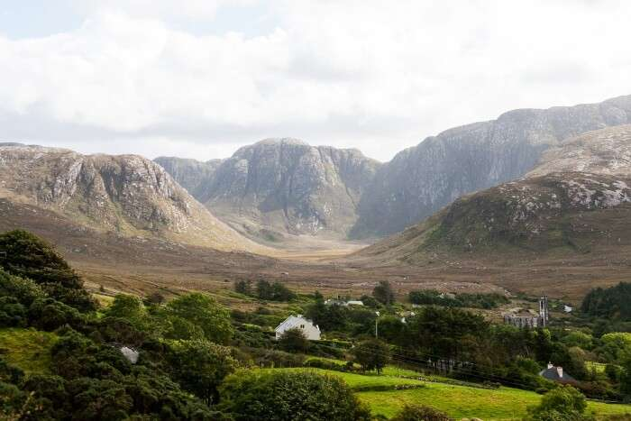 Valley in ireland