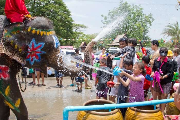 Dates Of Water Festival In Thailand