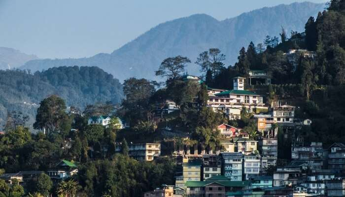 locality of a hill station